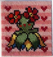 Bellossom in stitches