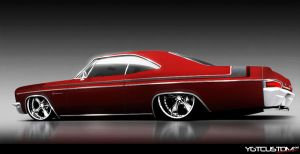 66 Impala Red by ygt-design