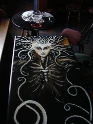 New Pub table top number one by Raliel