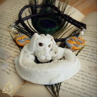 Falkor - luck dragon.Neverendingstory by Nad-inArt by Nad-in