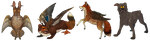 Wolpertinger and Welthund by Kampfkewob