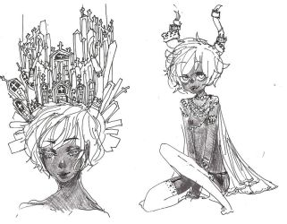 More yesterday doodles by Costly