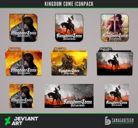 Kingdom Come Icons Pack by SanagaDesign
