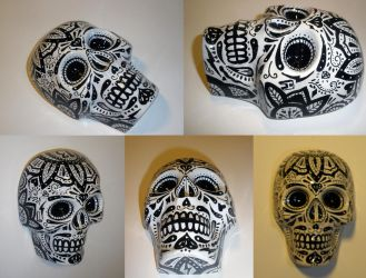 Sugar Skull set 1 by luther1000