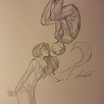 Spider-Marvel II? Kamala and Miles shipping? by SilentmanX