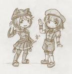 Rei and Rayna by foresteronly