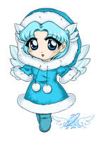 Arctic Angel Mascot by yanagi-san