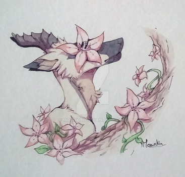Of flowers and trees by Moenkin