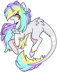 AUCTION : Neon pone (+ arts! / closed) by D-Dyee
