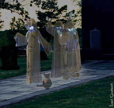 Cemetary Ghosts by gazmuth