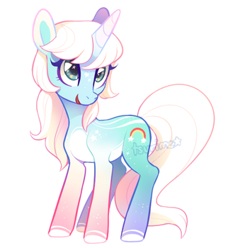 MLP Adoptable Auction - chroma flash (CLOSED) by tsurime