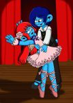 Love Couple 10: Nillala and Dancer Smurf by sandapolla