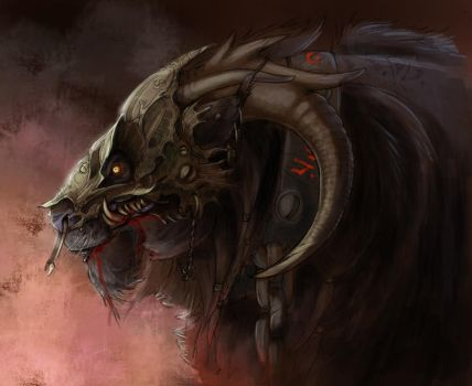Therion - the beast by Fan-the-little-demon