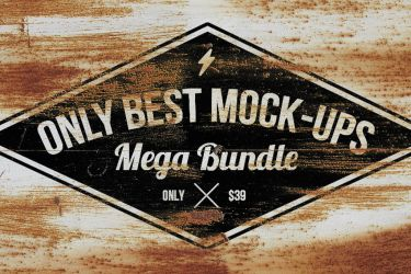 Only Best Mockups Mega Bundle by hugoo13