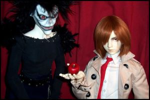 Death Note BJD: Apple? by Maru-Light