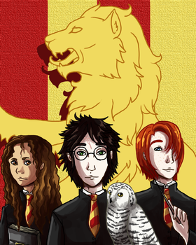The Golden Trio by AMEcco