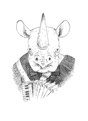 The Rhinoceros by pachryso