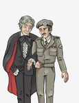 The Doctor and the Brigadier by SmudgeThistle