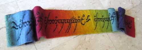 Lord of the Rings Scarf #2 by AllSunday10