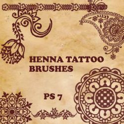 Henna Tattoo Brushes by Aree-Lulibub