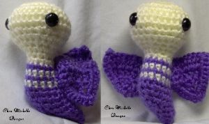Mabeth the Moth amigurumi by ChezMichelle