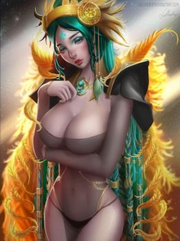 Shamanic Princess by Lolliedrop