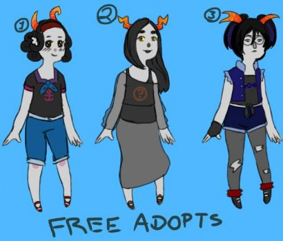 [CLOSED] Free Fantroll Adopts Batch #3 by HidingFreely