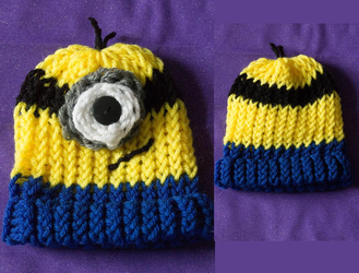 For Sale: Cute Minion Hats by ConfettiPhotography