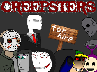 Creepsters for hire group fun by catoclum
