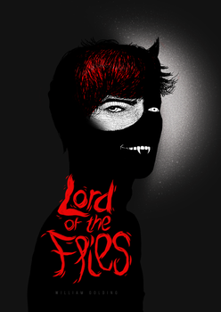 Lord of the Flies book cover by oPsithiros