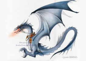 A Game of Throne Motion Comics - DRAGON by krukof2