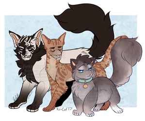 Garbage Family by Kii-Cat