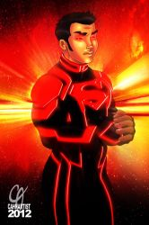 New 52 Superboy by Cahnartist