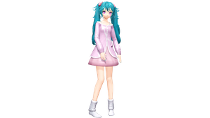Project Diva X High Fever Miku by Luke-Flame