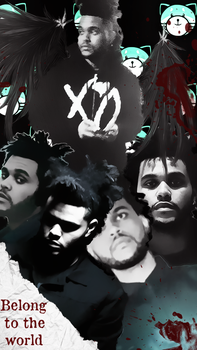 The Weeknd Phone Wallpaper by NavyGorl