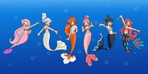 Pokemon Mermaids