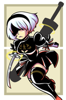 2b Poster by Anaugi