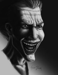 The Joker Study (LINK TO THE PROCESS) by Hugo-Souza