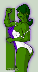 SheHulk3C1 by TULIO19mx