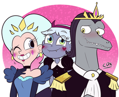 [GIFT] Royal fam by crazydemonkitty