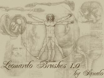 Leonardo Da Vinci Brushes 1.0 by squalo