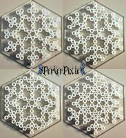 Snowflakes by PerlerPixie