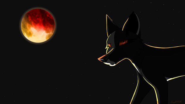 Super Blue Blood Moon by JayZX535