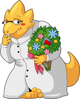Valentine Alphys by That-Cake