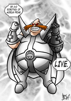 White Lantern Robotnik by Berty-J-A
