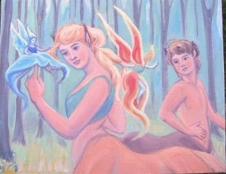 The Centaurs and the Faeries by MariaAragon64