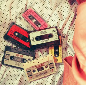 Cassettes by sp1nderella