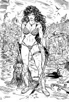 Red Sonja by Jubran