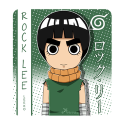 Rock Lee by lila-flower by MajoRaccoon
