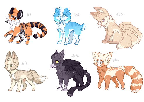 OPEN l -POINTS ONLY- Mixed Sheet adopts by Sno-berry